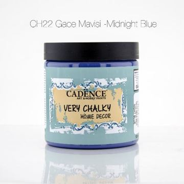 CH22 Gece Mavi - 500ML Very Chalky Home Decor resmi
